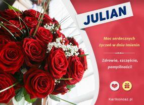 Bukiet dla Juliana