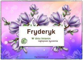 eKartki Imieniny Dla Fryderyka,