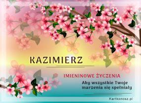 e Kartki Imieniny -> Imienne Męskie Dla Kazimierza,