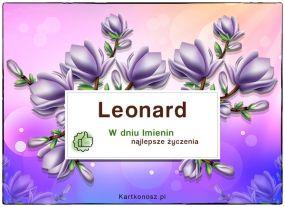 eKartki Imieniny Dla Leonarda,
