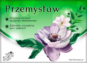e Kartki  Dla Przemysława,