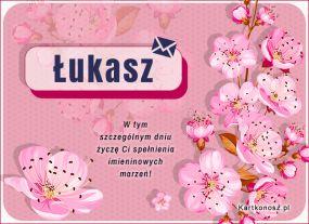 eKartki Imieniny Dla Łukasza,