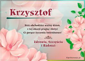 Dzień Imienin Krzysztofa