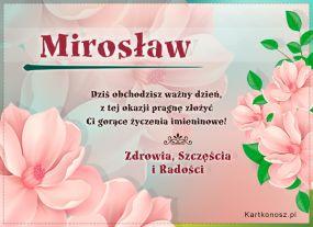 Dzień Imienin Mirosława