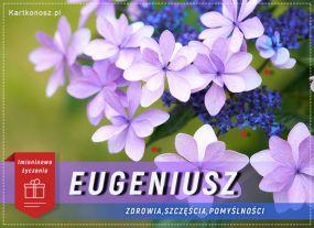 Eugeniusz - Kartka Imieninowa