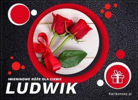 Imieninowe róże dla Ludwika