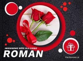 Imieninowe róże dla Romana