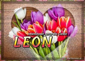 Imieninowe serce dla Leona