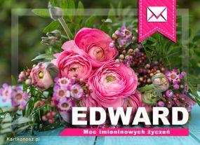 eKartki Imieniny Imieninowy bukiet dla Edwarda,
