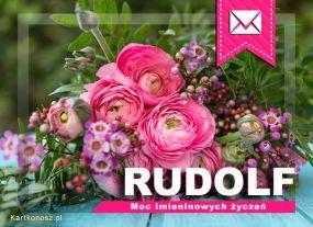 eKartki Imieniny Imieninowy bukiet dla Rudolfa,