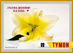Imieniny Tymona