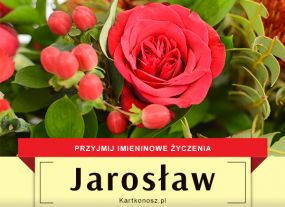 eKartki Imieniny Jarosław - Kartka Imieninowa,