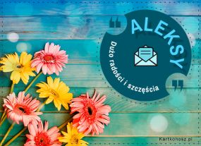 Kartka dla Aleksego