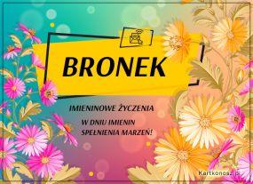 eKartki Imieniny Kartka dla Bronka,