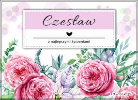 Kartka dla Czesława