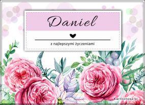 Kartka dla Daniela