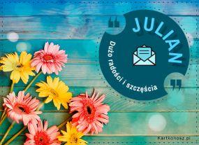 Kartka dla Juliana