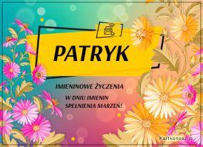 Kartka dla Patryka