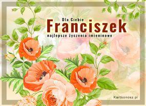 eKartki Imieniny Kwiaty dla Franciszka,