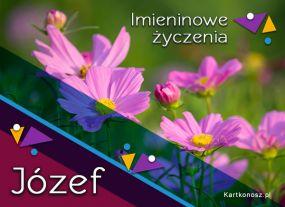 eKartki Imieniny Kwiaty dla Józefa,
