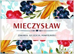 Kwiaty dla Mieczysława