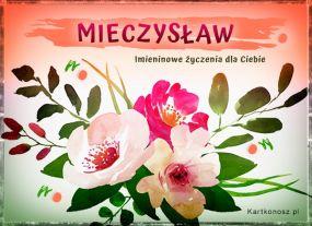 Mieczysław - Kartka Imieninowa