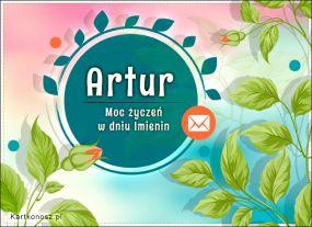Moc życzeń dla Artura