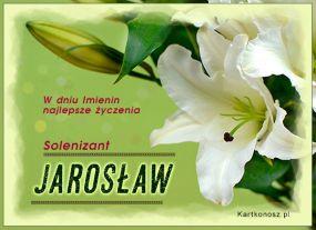eKartki Imieniny Solenizant Jarosław,