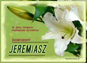 Solenizant Jeremiasz