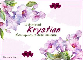 Solenizant Krystian