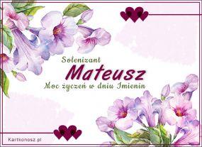 Solenizant Mateusz