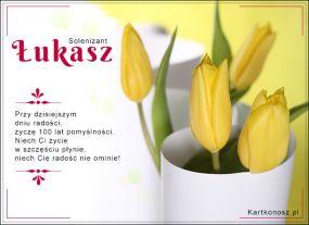 eKartki Imieniny Solenizant Łukasz,
