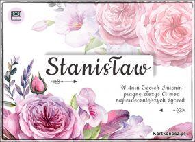 Stanisław - Kartka Imieninowa