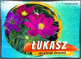 Łukasz - Kartka Imieninowa
