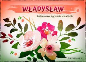 Władysław - Kartka Imieninowa