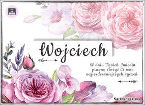 Wojciech - Kartka Imieninowa
