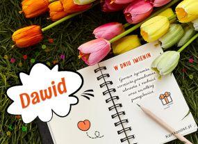 Życzenia dla Dawida
