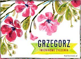 Życzenia dla Grzegorza