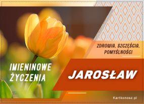 Życzenia dla Jarosława