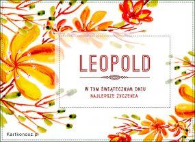 eKartki Imieniny Życzenia dla Leopolda,