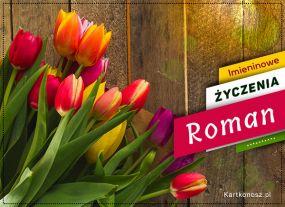 eKartki Imieniny Życzenia dla Romana,