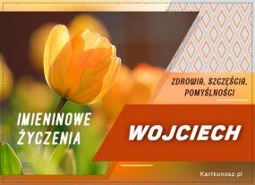 e Kartki  z tagiem: Kartka na imieniny Życzenia dla Wojciecha,