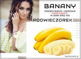 Bananowy podwieczorek
