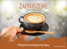 Filiżanka aromatycznej kawy