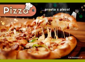 Pizza prosto z pieca!
