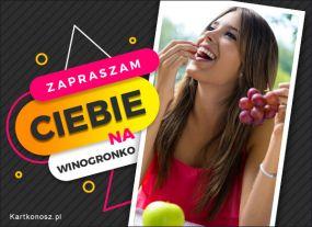 Soczyste winogronko