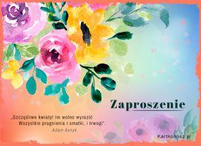 Szczęśliwe kwiaty...
