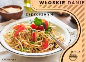 Włoskie danie