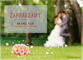 Zapraszamy na Nasz Ślub!