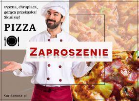 Zaproszenie na pizzę